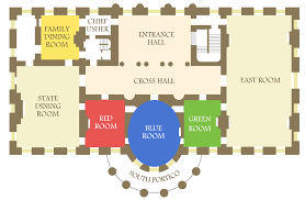 white house intruder actually ran through several state floor