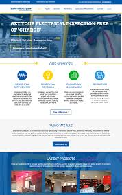 contractor web design inspirational construction websites tim