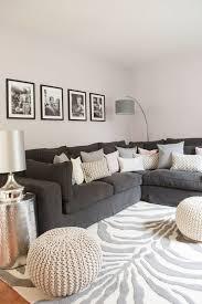 Wohnzimmer Nordischer Stil Wohnzimmer In Schwarz Weiss Stil Designer Couch Modernes Sofa
