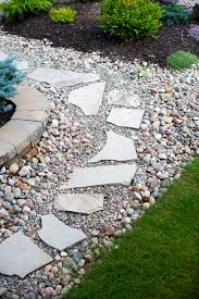 Backyard Flagstone Landscaping Ideas For A Triangle Shaped Back Yard Hunker
