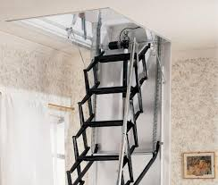hide the pull down attic stairs ashley home decor