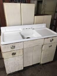 vintage metal kitchen cabinets 25 retro 1950 metal kitchen cabinet set with enamel farmhouse sink home decor kitchen
