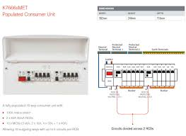 17th edition consumer unit wiring diagram gooddy org