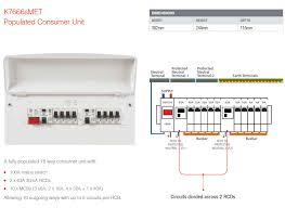 17th edition consumer unit wiring diagram gooddy org