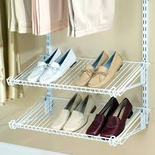 Closetmaid 15 Cubby Shoe Organizer White Closetmaid Shoe Organizer Cyberclara Com