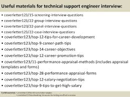 Technical Support Engineer Sample Resume by Top 5 Technical Support Engineer Cover Letter Samples