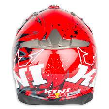 kini motocross gear kini red bull helmet revolution red 2017 maciag offroad