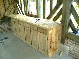meubles de cuisine en bois brut a peindre meuble cuisine en bois brut meuble haut de cuisine en bois brut