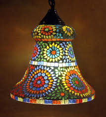Mosaic Pendant Lighting by Christmas New Light Decoration Glass Ceiling Pendant Hanging Lamps