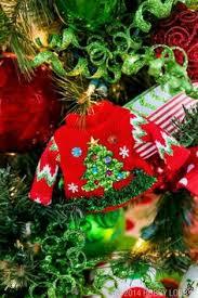 ugly christmas sweater ornaments set of 3 ugliest christmas