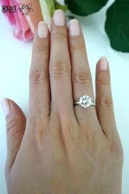 2 carat ring 2 carat diamond solitaire ring diamond engagement ring 2