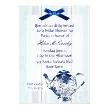 tea party bridal shower invitations bridal shower tea party invitations announcements zazzle