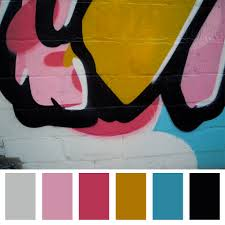 Beautiful Color Palettes by Finding Inspiration In Graffiti Vone Inspired
