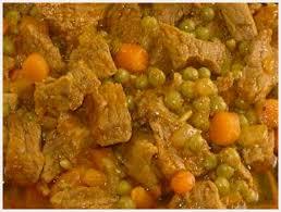 cuisiner le veau recette blanquette de veau à la marocaine sur recette com