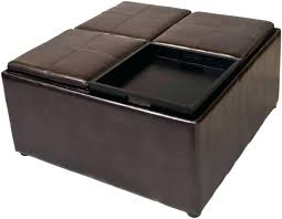 Coffee Table Storage Ottoman With Tray by Coffee Table Image Of Long Storage Ottoman Coffee Tablelarge
