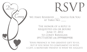wedding invitation rsvp wording dancemomsinfo com