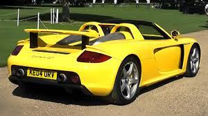 yellow porsche yellow porsche gt v10 sounds