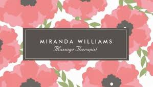 floral business card girly floral business cards page 1 girly business cards