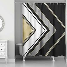 Silver And White Shower Curtain 10 Stylish Shower Curtains For A Modern Bathroom 10 Stunning Homes