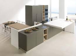 table coulissante cuisine un plan de travail coulissant donnera plus d espace dans votre