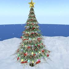 outdoor christmas tree second marketplace outdoor christmas pine tree decorated