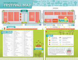 Festival Map Seattle Street Food Festival Map Visual Ly