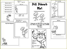 free dr seuss all about me printable book all about me dr