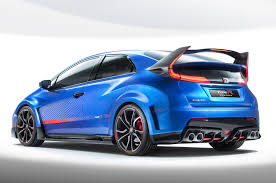 honda civic type r concept revs to 7000 rpm has adaptive suspension