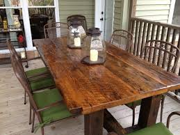 Rustic Kitchen Tables Furniture Add Character To Room With Rustic Tables Breakfast
