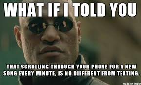 Texting And Driving Meme - went for a long drive with my friend who is strongly against texting
