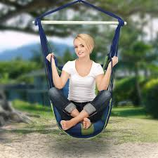 Hanging Patio Swing Chair Sorbus Hanging Hammock Chair Swing Seat For Any Indoor Or
