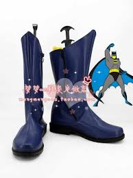 batman 1966 movie ver cosplay boots shoes shoe boot nm311