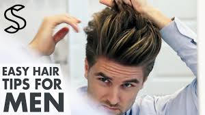 men u0027s hairstyling tips 5 min hair guide men u0027s look youtube