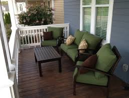 front porch furniture sets patio enchanting ideas green and brown 0