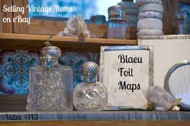 selling vintage items on ebay blaeu foil maps youtube