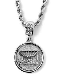 chain necklace hip hop images Hip hop last supper micro pendant 24 quot chain necklace in silver jpg