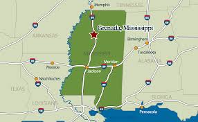 Custom Maps Maps Grenada Mississippi Economic Development District