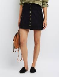 up skirt corduroy button up skirt russe