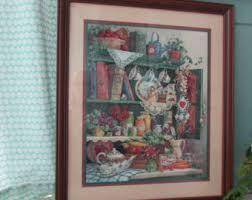 home interior framed barbara mock etsy
