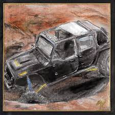 jeep artwork art by marlene koblmiller