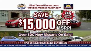 nissan titan xd platinum reserve for sale first team nissan labor day sales event youtube