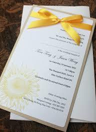 Carlton Wedding Invitations Sunflower Themed Wedding Invitations U2014 Criolla Brithday U0026 Wedding