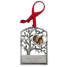 pewter memorial tree ornament
