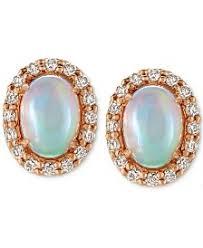 opal earrings stud opal earrings shop opal earrings macy s