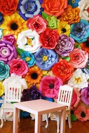 backdrop paper baby shower backdrop paper flower backdrop paper flowers
