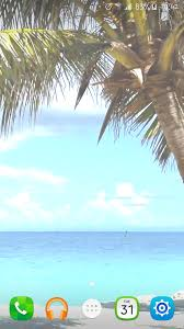 beach palm tree live wallpaper android apps on google play