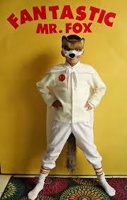 Kids Fox Halloween Costume Diy Fantastic Fox Costume Fox Costume Fantastic Fox