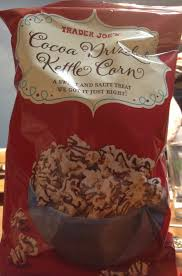 trader joes thanksgiving what u0027s good at trader joe u0027s trader joe u0027s cocoa drizzled kettle corn