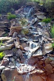 Waterfall In Backyard How To Build A Backyard Waterfall Up A Slope Hometalk
