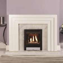 gas fire gazco logic he tempo high efficiency 86 glass fronted